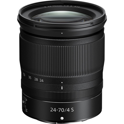 NIKKOR Z 24-70mm f/4 S Full Frame Zoom Lens for Z-Mount Mirrorless Cameras 20072