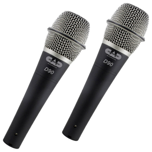 2-Pk CadLive D90 Supercardioid Dynamic Handheld Microphone