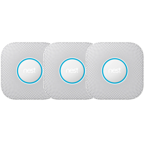 S3006WBUS Protect Smoke and CO Alarm, Battery, 3-Pack - White