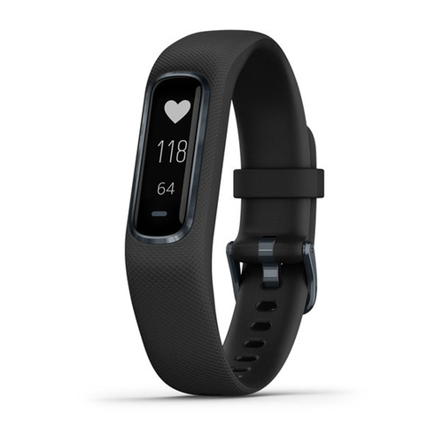 vivosmart 4 Activity & Fitness Tracker - Black with Midnight Hardware (Large)
