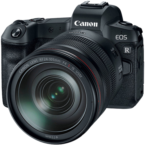 EOS R 30.3MP Mirrorless Full Frame Digital Camera with 24-105mm Lens
