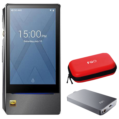 FiiO Flagship High-Res Lossless Music Player (X7 Mark II) w/ A3 Amplifier Bundle