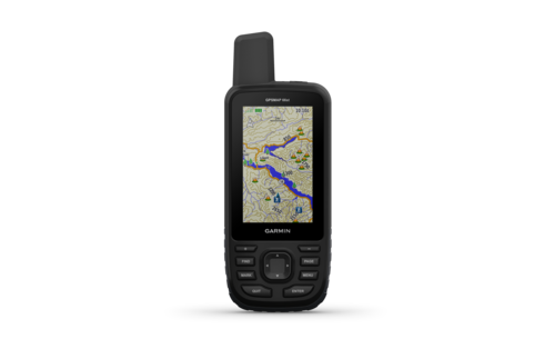 Garmin GPSMAP 66st TOPO U.S. Canada 100K Maps with multi-GNSS support 010-01918-00