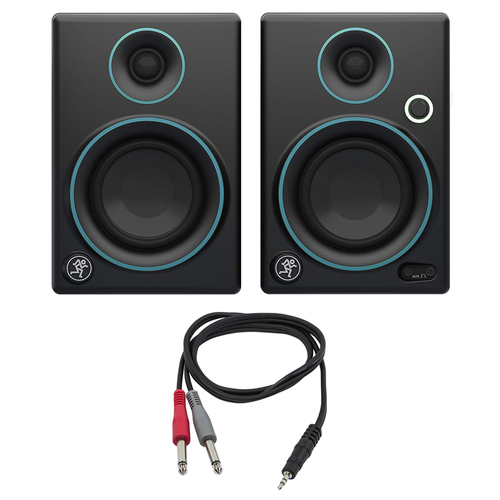 Mackie CR3 CR Series 3` Creative Reference Multimedia Monitors (Pair) w/ Cable