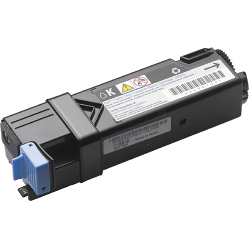 Dell Black Toner Cartridge 1320c Color Laser Printer - DT615