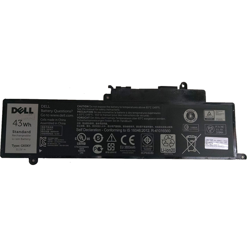 Dell 43Whr 11.1V Inspiron 13 Battery - GK5KY