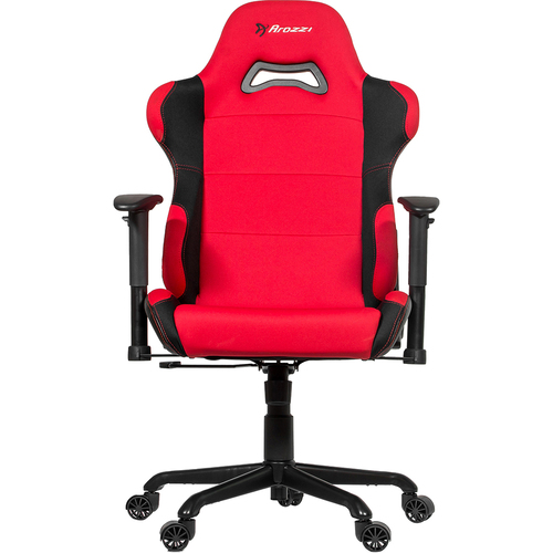 Arozzi ADVANCED XL GAMING CHAIR RED ERGONOMIC XTRA WIDE RECLINE FABRIC