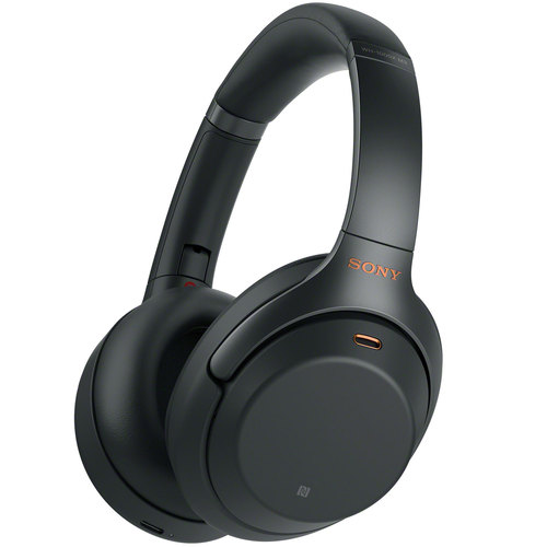 WH1000XM3/B Premium Noise Cancelling Wireless Headphones with Mic | Black