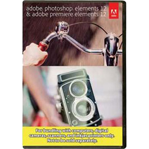 Photoshop Elements and Premiere Elements 12 - MAC / PC (bundle package)
