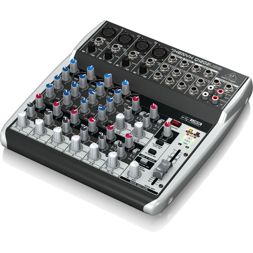 Behringer Q1202USB 12-Channel 2-Bus Mixer w/ XENYX Preamps - Open Box