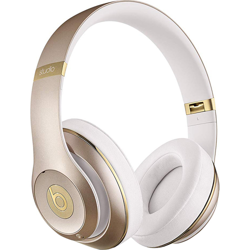 Beats By Dre Studio Wireless Over-Ear Headphone, Gold - Refurbished