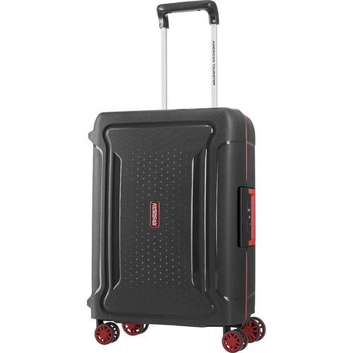 American Tourister 20` Tribus Hardside Spinner Luggage, Black