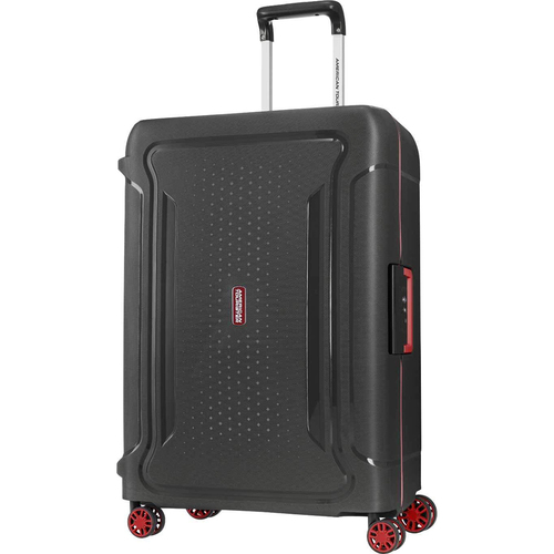 American Tourister 25` Tribus Hardside Spinner Luggage, Black