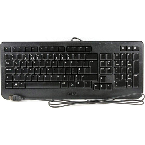 Dell Otiplex/Inspiron/Dimension 104 USB Black Keyboard - SK-8185