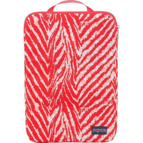 JanSport 15'' Coral Peaches Wild at Heart (T45E) Laptop Sleeve