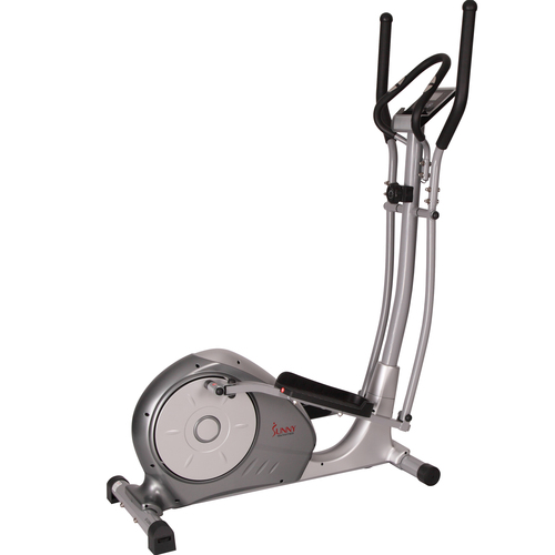 Sunny Health and Fitness Magnetic Elliptical Trainer w/ Adjustable Resistance & Pulse Sensors (SF-E3608)