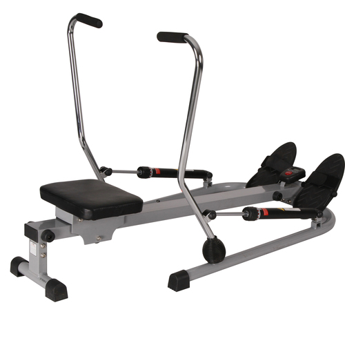 Sunny Health and Fitness 12 Level Resistance Rowing Machine Rower w/ Independent Arms (SF-RW5619)