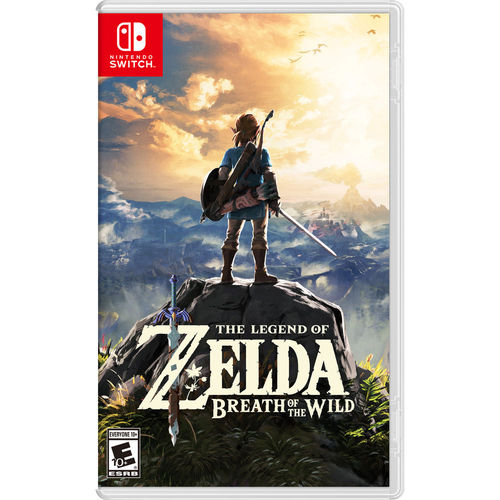 Nintendo The Legend of Zelda Breath of the Wild for Nintendo Switch