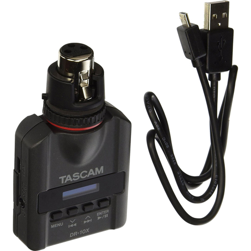 Tascam DR-10X Direct-Connect Mini Linear Portable Recorder For XLR Microphones