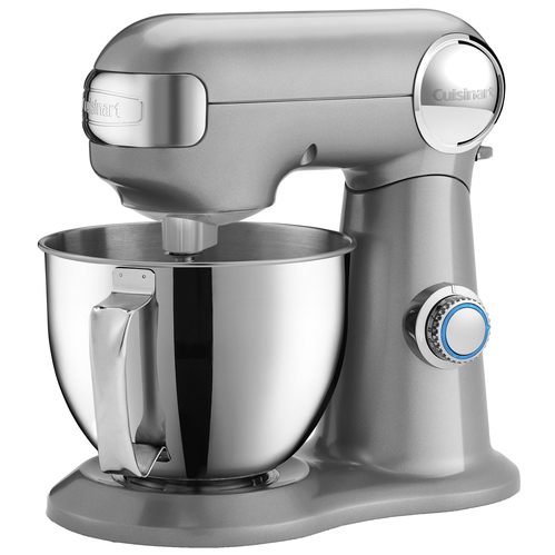 Cuisinart SM35BC Precision Master 3.5 Quart 12 Speed Stand Mixer- Brushed Chrome (SM-35BC)