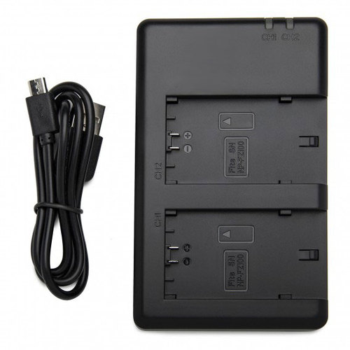 General Brand Dual Battery Charger for Sony Camera NP-FZ100 Batteries