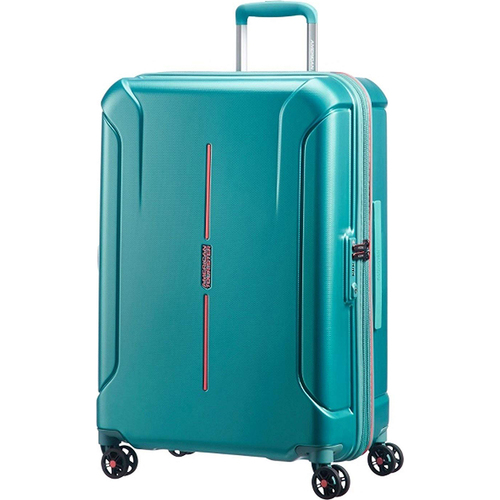 American Tourister 28` Technum Hardside Spinner Luggage, Jade Green