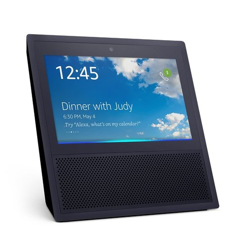 Amazon Echo Show Controller 7` - Bluetooth/Wi-Fi - Android/iOS - Black