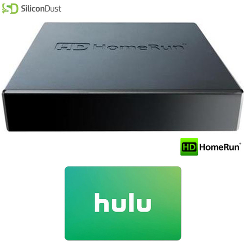 SiliconDust HDHomeRun CONNECT DUO 2 (HDHR5-2US) w/ $25 Hulu PLUS Gift Card