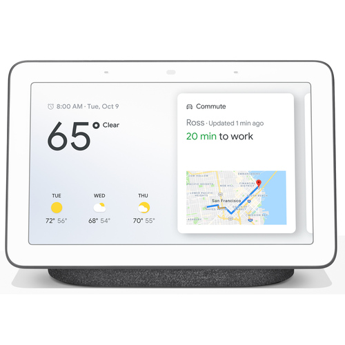 Hub with Google Assistant (GA00515-US) - Charcoal
