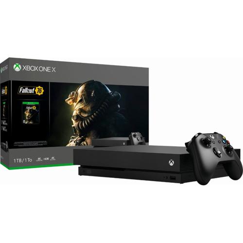 Microsoft Xbox One X 1TB Fallout 76 Console