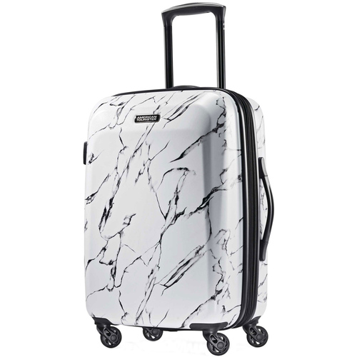 American Tourister 24` Moonlight Hardside (ABS) Spinner-Marble (92505-T555)