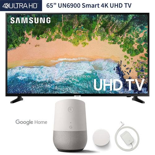 """Samsung UN65NU6900 65"""" NU6900 Smart 4K UHD TV (2018 Model"""