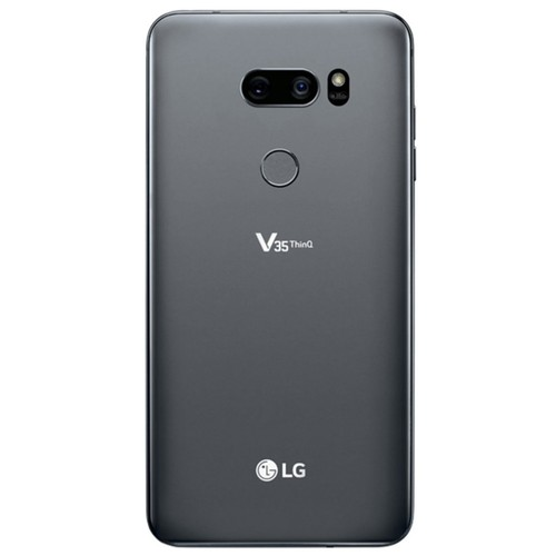 LG V35 ThinQ 64GB Smartphone (Unlocked, Black) + 32GB