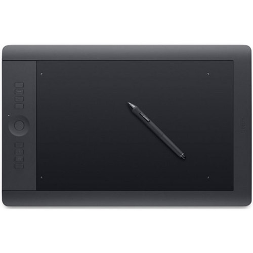 Wacom Intuos Pro Pen & Touch Tablet Large Includes Valuable Software Download PTH851)