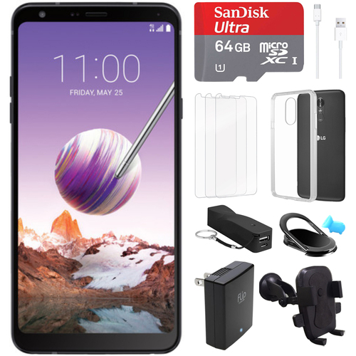 LG Stylo 4 32GB Smartphone (Unlocked) + 64GB Accessory Bundle