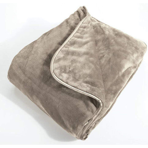Brookstone Nap Weighted Blanket in Taupe