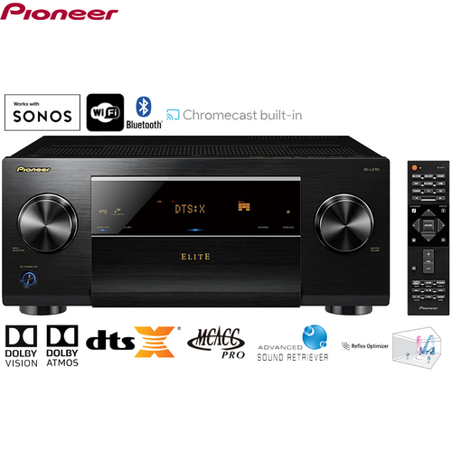 Pioneer Elite SC-LX701 9.2ch Wi-Fi Network AV Component Receiver - (Certified Refurbished)
