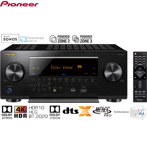 Pioneer Elite 9.2-Channel Network A/V Receiver (VSXLX503) - Certified Refurbished