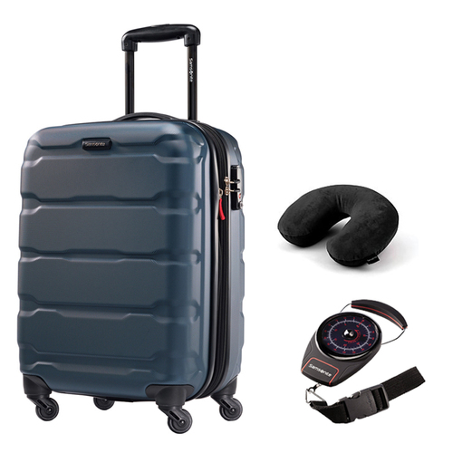 Samsonite Omni Hardside Luggage 28` Spinner Teal 68310-2824 with Travel Kit