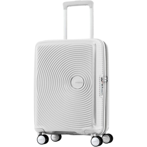 American Tourister 25` Curio Hardside Spinner Luggage, White - Open Box