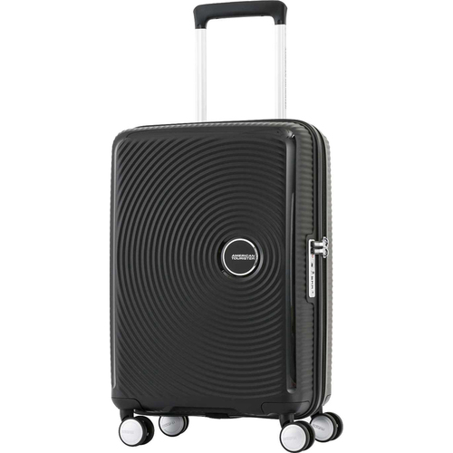 American Tourister 29` Curio Hardside Spinner Luggage, Black - Open Box