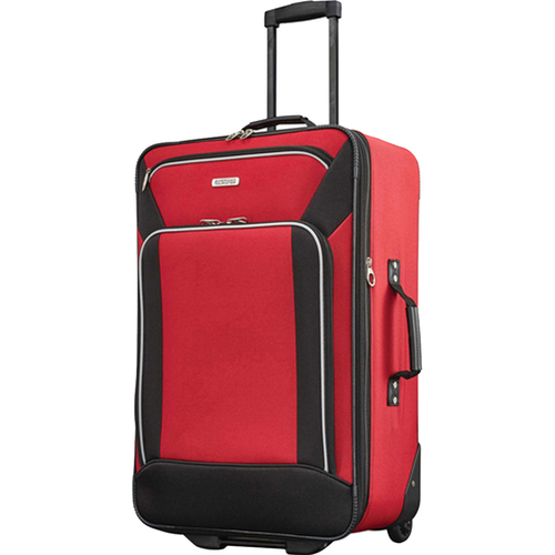 American Tourister Fieldbrook XLT 4 Piece Luggage Set - Red - (92288-1733) - Open Box