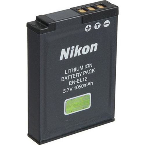 Nikon EN-EL12 Lithium Battery for Nikon Coolpix  S630, S70, S640, S8000, S6000