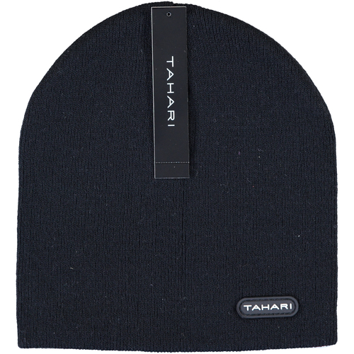 Knit Winter Beanie Skull Ski Hat 2 Ply (Unisex) - (Black)