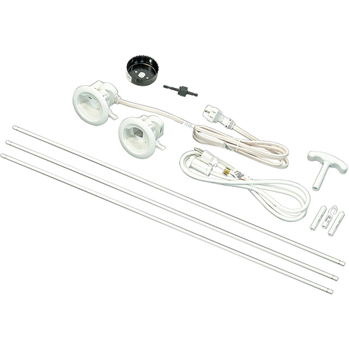 Wiremold/Legrand Flat Screen Tv Cord And Cable Power Kit - CMK70