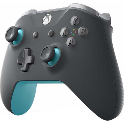 Microsoft Xbox Wireless Controller in Grey and Blue - WL3-00105