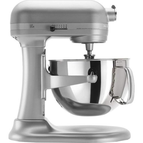 KitchenAid Professional 600 Stand Mixer 6 quart, Nickel Pearl REFURBISHED