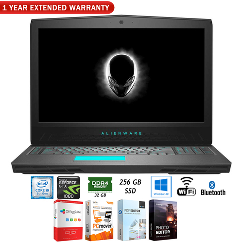 Dell 17.3` 8950HK 32GB 256GB Intel Core i9 Gaming Laptop +Extended Warranty Pack