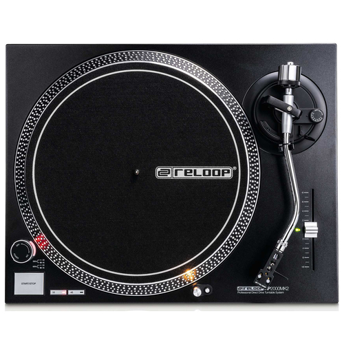Reloop Quartz-Driven DJ Turntable with Direct Drive AMS-RP-2000-MK2