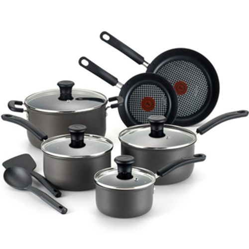T-Fal SIGNATURE HD ANODIZED 12PC SET